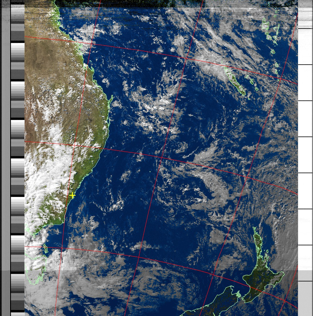 A nice Weather map from down under - Observations - Libre